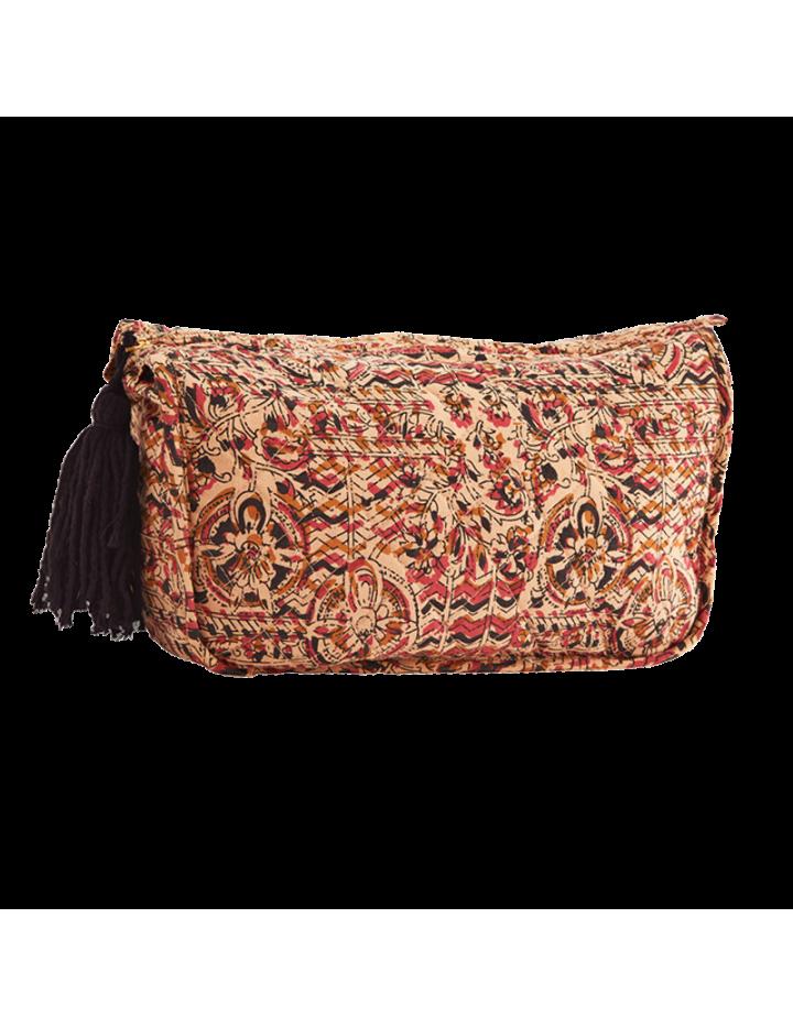 Madam Stoltz Tapis coton grège 120x180cm