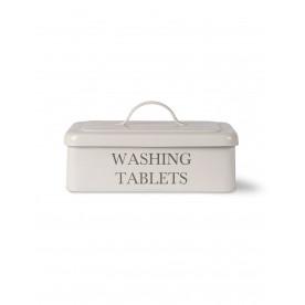 Boîte métal tablettes de lessive