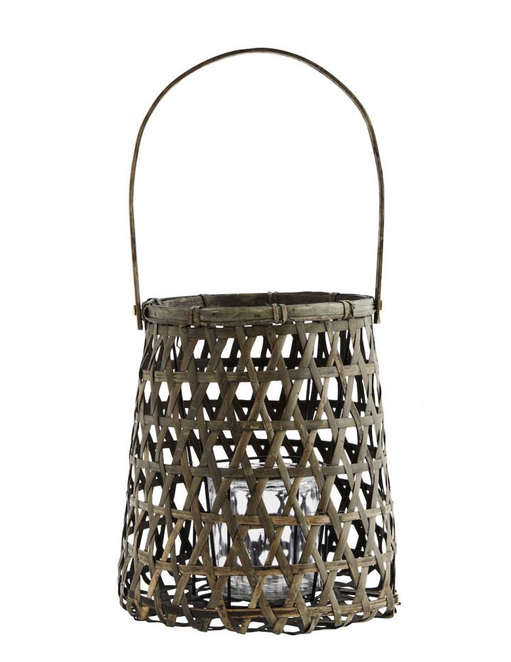 Grande Lanterne Decorative en Bambou Madam Soltz