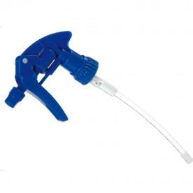 Tête de vaporisateur bleue