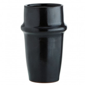 Mug beldi noir en grès - Madam Stoltz