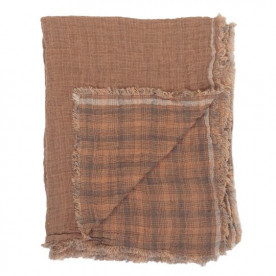 Plaid Inverness Marron - Le Monde Sauvage